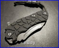 $1,200 Mikkel Willumsen Custom Damascus Folder Folding Knife Mint/new 5/10