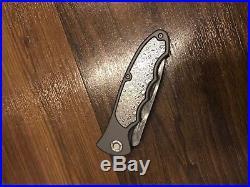 $500 Boker Leopard Damascus III Collection 42 Folding Knife Damascus Steel