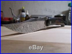 Alan Folts Custom Sultan Folding Knife not Strider Chris Reeve Hinderer