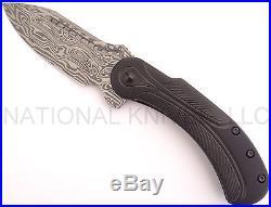 Begg Knives Steelcraft Field Marshal Folding Knife, Damascus FM215 Dealer
