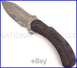 Begg Knives Steelcraft Field Marshall Folding Knife, Damascus FM214 Dealer
