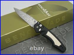 Benchmade 470-131 Emissary Gold Class Osborne Axis Assist Damascus Folding Knife