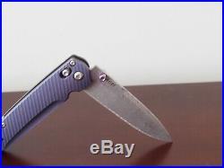 Benchmade 485-171 Valet Gold Class Folding Knife Damascus Blade Ltd Ed Axis #691
