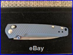 Benchmade 485-171 Valet Gold Class Folding Knife Damascus Blade Ltd Ed Axis #955