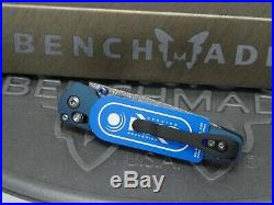 Benchmade 485-171 Valet Gold Class Folding Knife Damascus Titanium Axis #1289