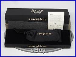 Benchmade 485-171 Valet Gold Class Folding Knife Damascus Titanium Axis #1342