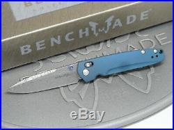 Benchmade 485-171 Valet Gold Class Folding Knife Damascus Titanium Axis #1425