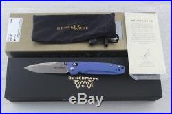 Benchmade GOLD Class 485-171 Valet Damascus Damasteel Folding Knife