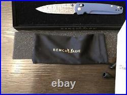 Benchmade Knives 485-171 Valet, Gold Class, Damascus Blade folding knife