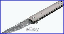 Boker 01bo297dam Boker Plus Kwaiken Damascus Blade Steel Folding Knife