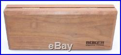 Boker Annual Damascus Limited Ed 2000 Folding Knife Snakewood Handle Plain Edge