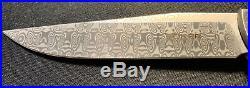 Boker Plus Urban Trapper Damascus Steel Titanium Folding Knife P01BO739DAM MINT