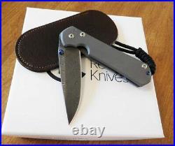 CHRIS REEVE Right Hand Small Sebenza 31 Boomerang Damascus Blade Knife/Knives