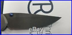 CHRIS REEVE l31-1005 LARGE SEBENZA 31 DAMASCUS LADDER LEFT HAND FOLDING KNIFE