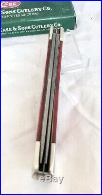 Case XX 6265D Folding Hunter Knife, Near Mint, 2003 Dealer Knife, Damascus