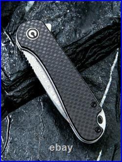 Civivi Elementum 2.96 Damascus Carbon Fiber Folding Knife C907DS EXPRESS POST