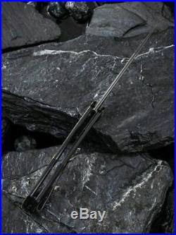 Civivi Linerlock Folding Knife 3.45 Damascus Steel Blade Rubber/Copper Handle