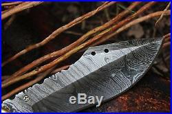DKC-101 ORIAN 1 Pocket Folding Damascus Hunting Knife 8 Long, 3.25 Blade 4.5