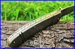 DKC-96 ZORIAN Damascus Folding Pocket Knife 4.75' Folded 8.25 Open