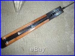 DOC HAGEN DAMASCUS folding lock back art knife bolster re