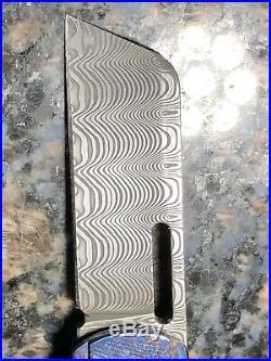 Damascus Damasteel Folding Knife Timascus Mokuti Quest Micro 2.0 Kwaiken Flipper