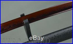 Damascus Folded Steel Katana Battle Ready Japanese Samurai Sword Sharp Knife