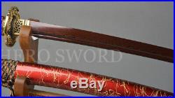 Damascus Folded Steel Samurai Sword Handmade Japanese Wakizashi Knife Full Tang
