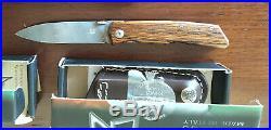 FOX Terzuola Design folding knife wood damascus FX 525 DB NEW