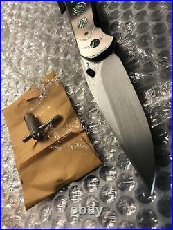 Free shipping Lochsa folding knife Scott Cook