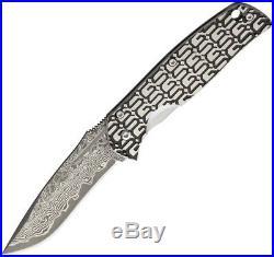 G. Sakai Gentlemans Folding Knife 2.25 Damascus/VG-10 Steel Blade Stainless