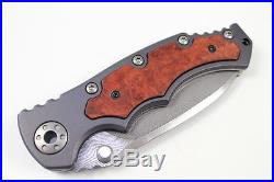 HIGH END GERMAN EICKHORN POHL ONE DAMASCUS II. FOLDING KNIFE With CERTIFICATION