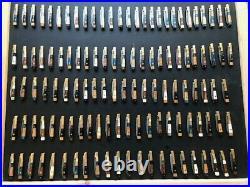 Hand Made Damascus Folding Knives Lot Of 119-pcs