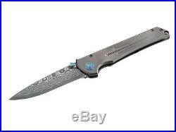 Herbertz 67 Damascus Onehand Folding Pocket Knife /529211 Titan