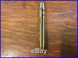 Joe Purdue Custom Damascus Folder Folding Knife