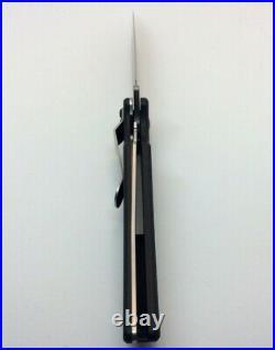 Kershaw Damascus Skyline 1760DAM Plain Edge Blade Folding Knife NIB Discontinued