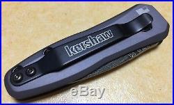 Kershaw Launch 4 automatic folding knife Damascus blade New Rare USA
