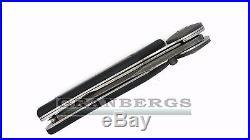 Kizlyar Biker-1 Damascus Steel Blade Folding Knife Hand Forged Quality Russian