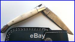 Laguiole, Damastmesser, Jagdmesser, Taschenmesser, Damascus Knife, folding knive