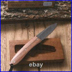 Lionsteel Opera Damascus Folding Knife Camp Hunting Collector Edc Cod 8800 Dst