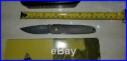 Lone Wolf Knives Lc10900 Angelo Damascus Ltd Edition Folding Knife Estate Sale