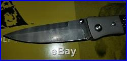 Lone Wolf Knives Lc11500 Tighe Damascus Ltd Edition Folding Knife Estate Sale