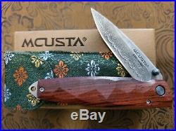 Mcusta Folding Pocket Knife New Tsuchi Damascus Series MC-77D