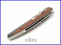 Mcusta Seki Japan 171d Jazz Custom Inlay Vg-10 Damascus Folding Pocket Knife