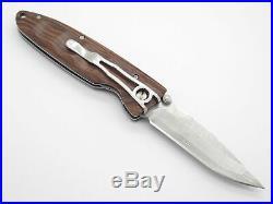 Mcusta Seki Japan Basic Mc-0014dr Rosewood Vg-10 Damascus Folding Pocket Knife