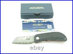 Mcusta Seki Japan MC-211D Petit VG-10 Damascus Small Folding Pocket Knife
