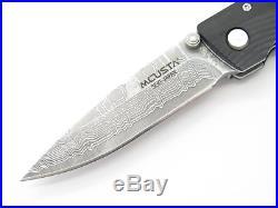 Mcusta Seki Japan Mc-0052d Micarta & Vg-10 Damascus Small Folding Pocket Knife