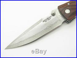 Mcusta Seki Japan Tactility Elite Mc-122dr Rosewood Vg-10 Damascus Folding Knife