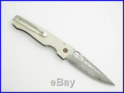 Mcusta Seki Japan Tactility Elite Mc-126g Corian Spg2 Damascus Folding Knife