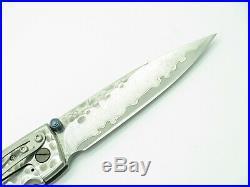 Mcusta Seki Japan Tsuchi Mc-114d Large Vg-10 Damascus Folding Pocket Knife