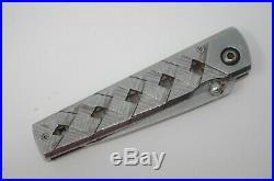 Mcusta Seki Japan Yoroi MC-37C VG-10 San Mai Damascus Small Folding Pocket Knife